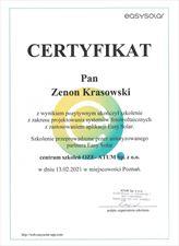 certyfikat easysolar