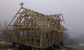 budowa drewnianych domków