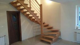 schody dwuzabiegowe nakładane