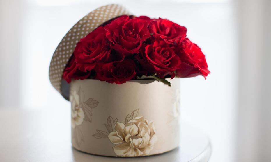 Flower box – pomysł na niebanalny prezent imieninowy