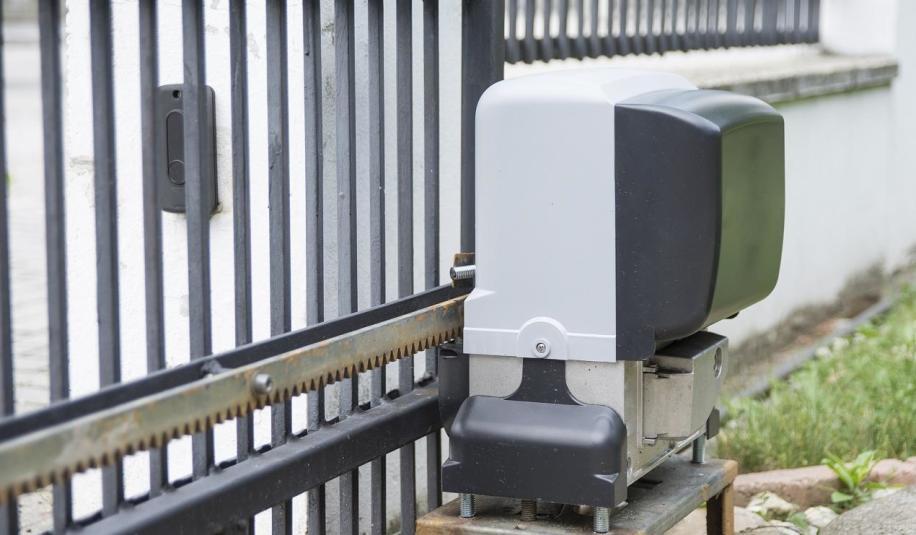 Elementy automatyki bram wjazdowych na posesję.