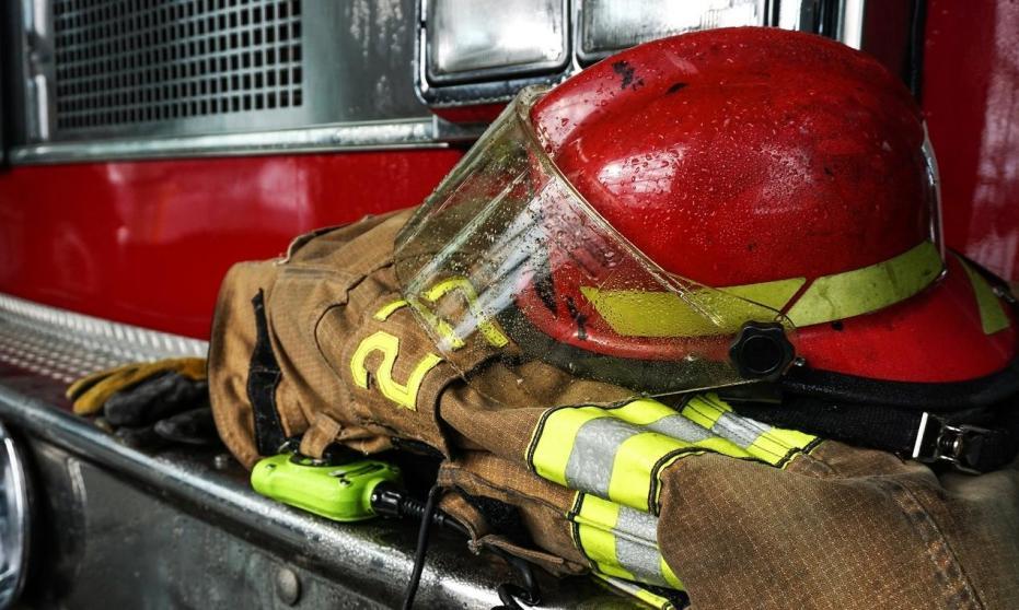 Hełm jako element ubioru strażaka
