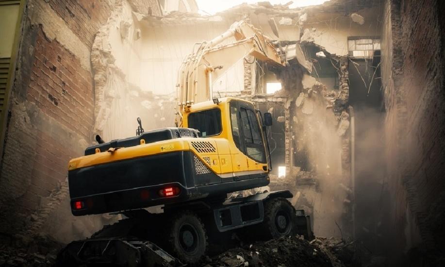 Zasady bezpieczeństwa przy wyburzeniach budynków