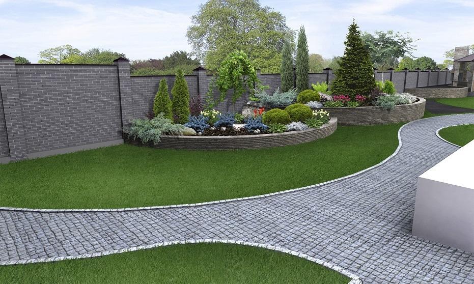 Jak wykonać obrzeże trawnikowe z kostki brukowej?