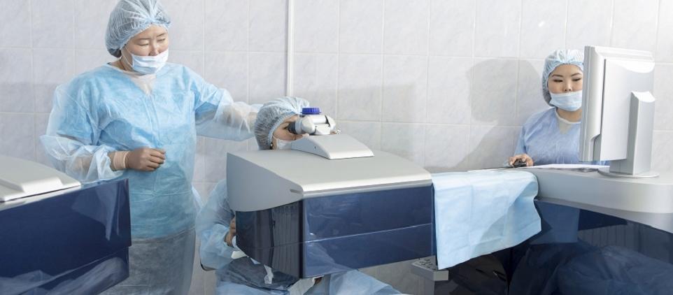 Leczenie laserowe jaskry