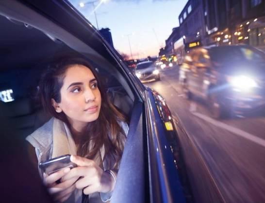Korzystanie z taksówki- oszczędność czasu