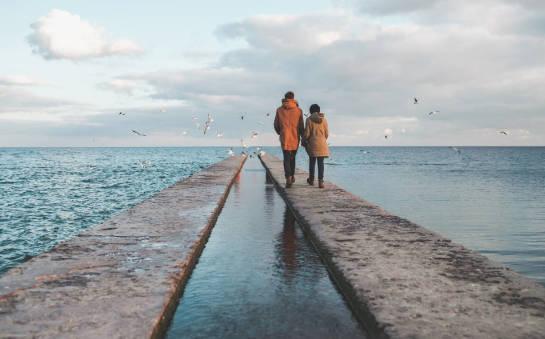Walentynki nad morzem. Propozycja dla par