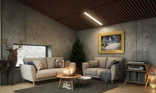 Do jakich wnętrz pasują betonowe płyty na ścianę?