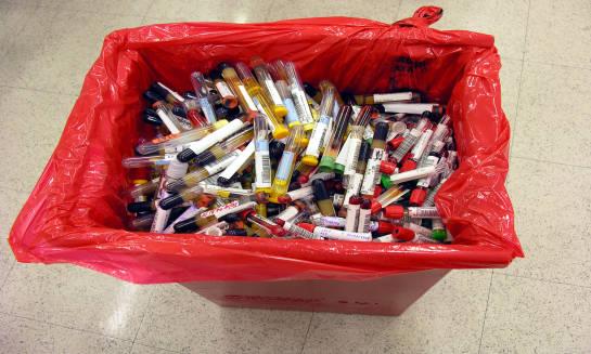 Rodzaje worków na odpady medyczne