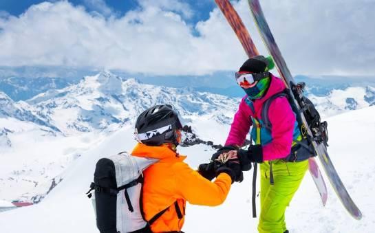 3 pomysły na romantyczne oświadczyny w górach