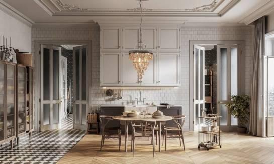 Krzesła i stoły do wnętrza o klasycznym stylu