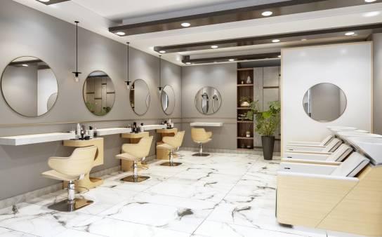 Jak zaprojektować salon fryzjerski, by jego wnętrze było spójne?
