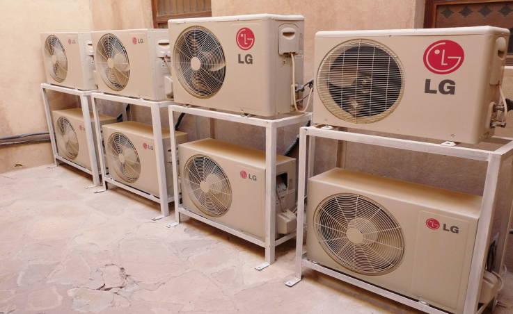 Systemy wentylacji i klimatyzacji do uzdatniania powietrza w pomieszczeniach