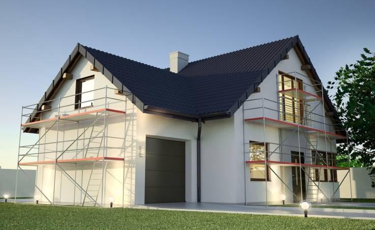 Eksploatacja rusztowań na małych budowach