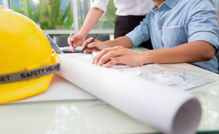 Tyczenie budynków na potrzeby uzyskania zezwolenia na budowę
