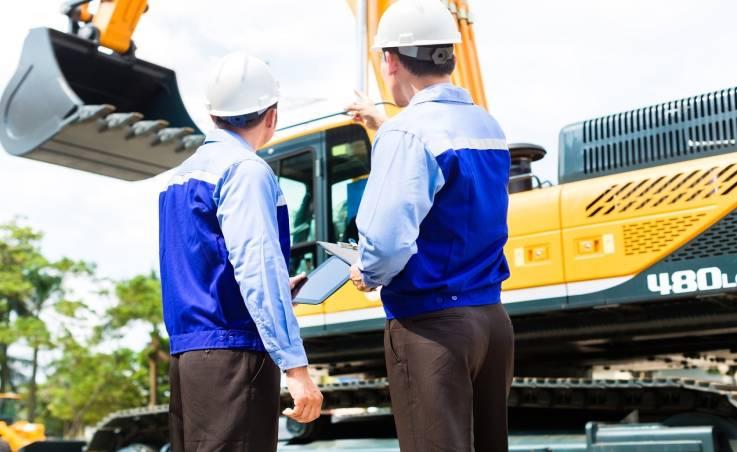 Części zamienne do maszyn budowlanych – przegląd rozwiązań