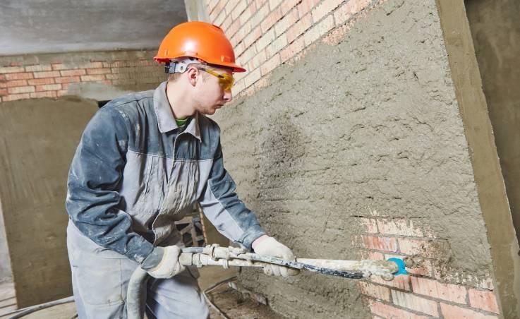 Główne zalety betonu natryskowego