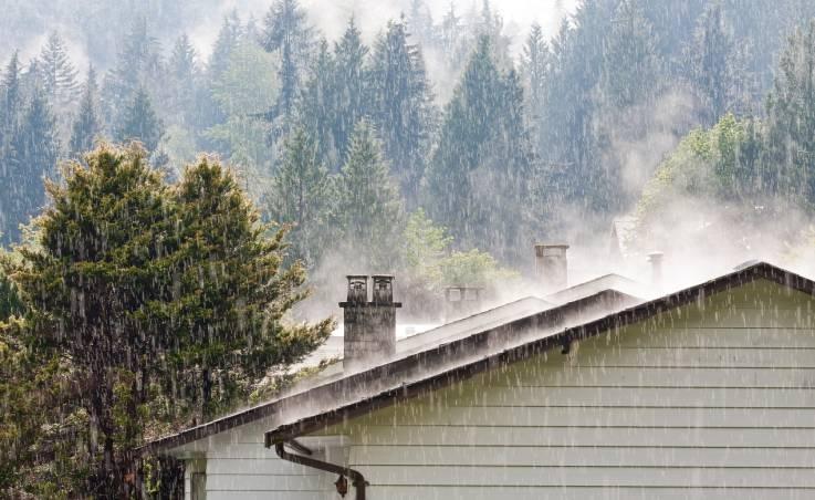 Czy kominy są wrażliwe na wilgoć?