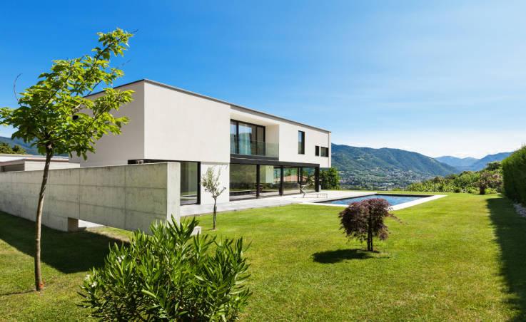 Beton architektoniczny w aranżacjach ogrodowych