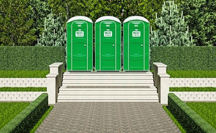 Kabiny WC czy toalety przenośne. Na które rozwiązanie się zdecydować?