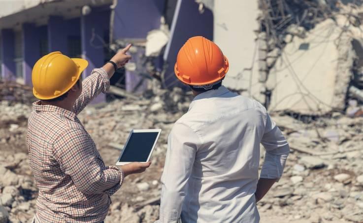 Bezpieczeństwo przy pracach wyburzeniowych