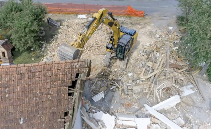 Bezpieczeństwo przy rozbiórkach obiektów
