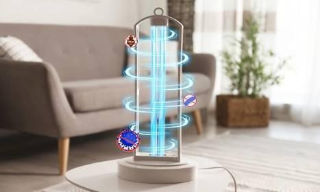 Sterylizacja pomieszczeń przy pomocy lampy bakteriobójczej