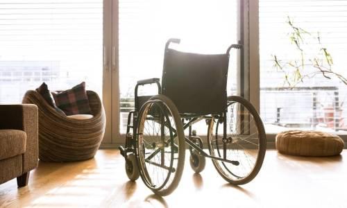 Komunikacja wewnętrzna w obrębie mieszkania przystosowana dla osoby z niepełnosprawnością