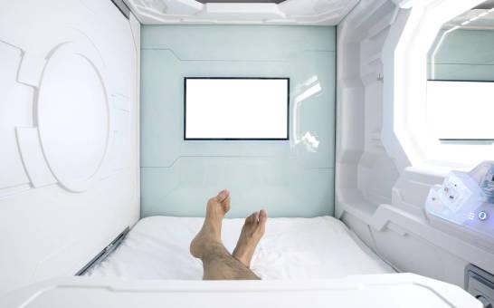 Hotel kapsułowy, czyli oszczędność przestrzeni w japońskim stylu