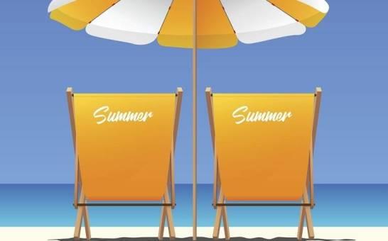 Reklama na wakacjach? Na przykład na leżaku