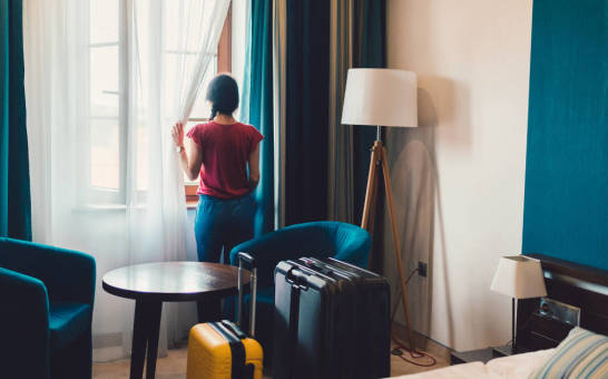 Firany i zasłony idealne dla hoteli