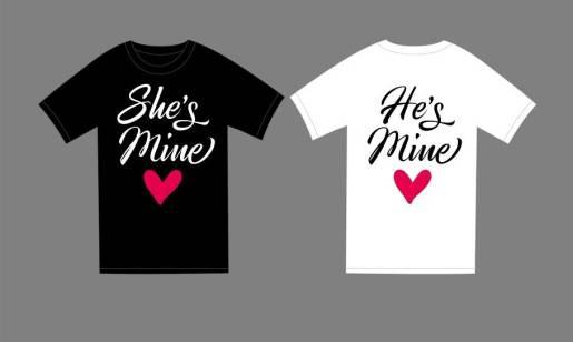 Koszulki dla zakochanych. Propozycja odzieży na walentynki