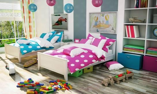Dlaczego warto dekorować ściany pokoju dziecięcego obrazami na płótnie