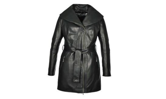 Skórzane płaszcze damskie wspaniałym pomysłem na wiosnę