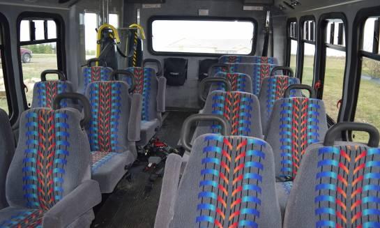 Wyposażenie nowoczesnego busa