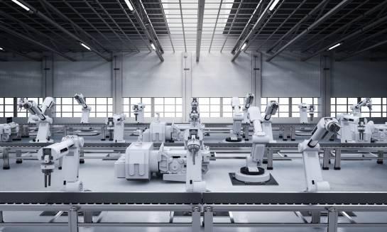 Robotyzacja w przemyśle. Wyspy zrobotyzowane