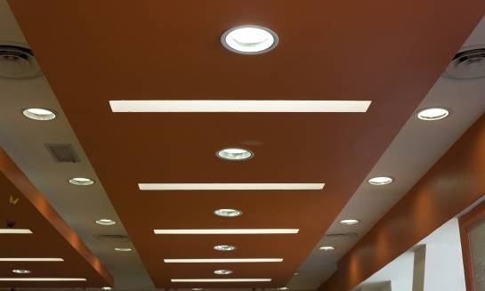 Zastosowanie plafonów LED