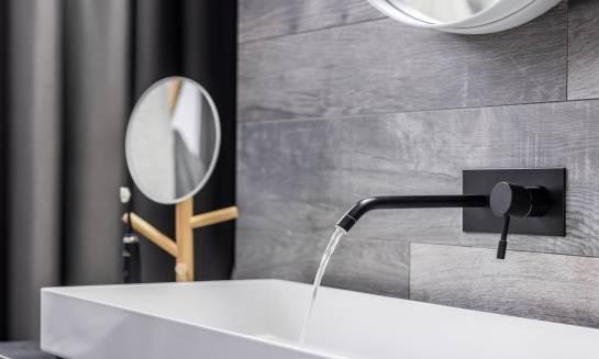 Bateria umywalkowa w stylu minimalistycznym. Gdzie się sprawdzi?