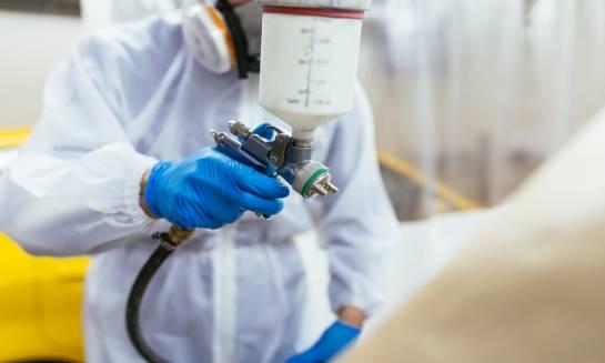 Badanie jakości powłok w lakierowaniu proszkowym