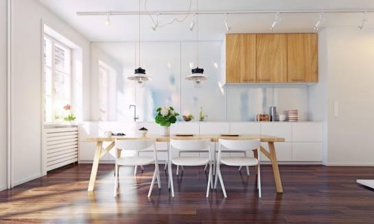 Panele podłogowe do kuchni. Aranżacje, moda, styl