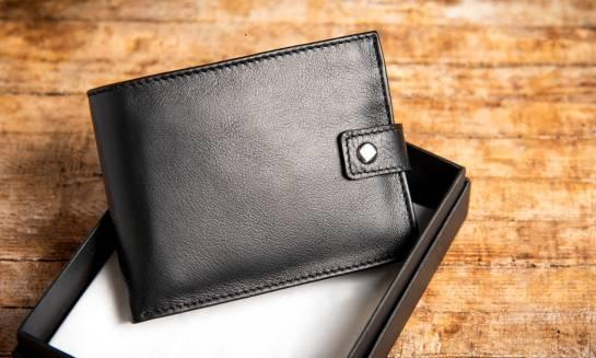 Skórzany portfel jako pomysł na prezent
