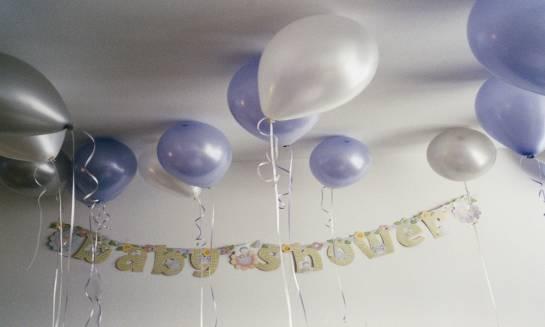 Pomysły na dekorację sali na baby shower