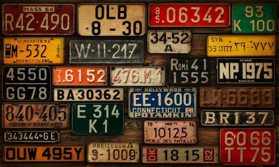 Kolekcjonowanie tablic rejestracyjnych - oryginalny pomysł na hobby