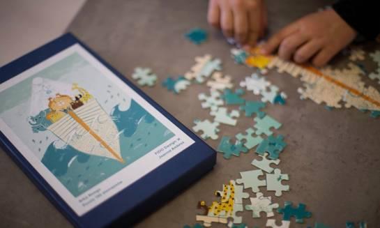 Niesamowite puzzle dla młodego katolika
