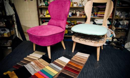 Materiały wykorzystywane przy produkcji mebli tapicerowanych