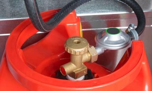 Jak bezpiecznie składować butle gazowe?