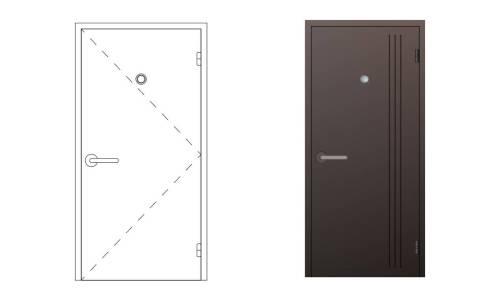 Czym charakteryzują się drzwi stalowe profilowe i gdzie znajdują zastosowanie?