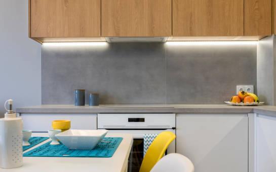 Wykorzystanie ledów we wnętrzach kuchennych