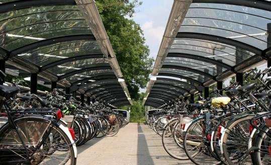 Wiaty rowerowe jako element infrastruktury ulicznej