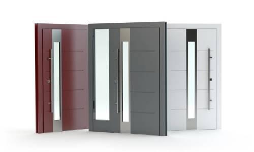 Zalety i wady aluminiowych drzwi wejściowych